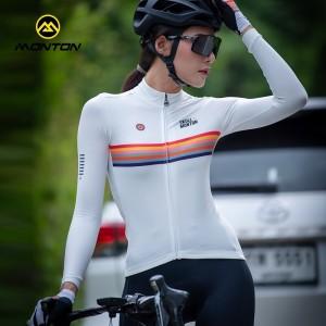 Harga jersey monton wanita baju sepeda cycling monton 100 original women   putih   HARGALOKA.COM