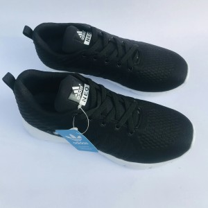 Harga sepatu adidas neo buat sekolah dan main murah berkualitas   hitam | HARGALOKA.COM