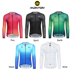 Harga monton baju sepeda cycling jersey monton 100 original baju gowes   fire merah pria   HARGALOKA.COM