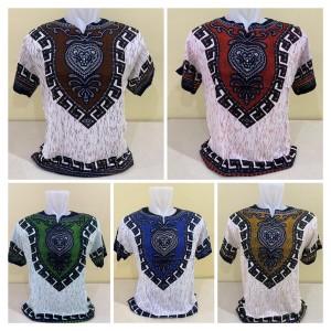 Harga baju batik uje dasar putih bahan rayon premium xl baju batik | HARGALOKA.COM