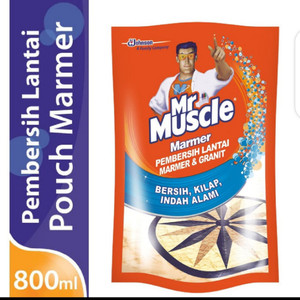 Harga mr muscle axi marmer pouch 800ml pembersih lantai marmer dan | HARGALOKA.COM