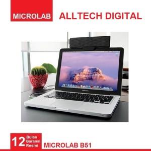 Harga microlab b51 portable laptop tablet speaker   HARGALOKA.COM