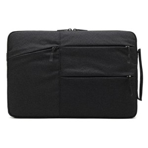 Harga sleeve case shockproof for laptop 15 6 inch   c2396   black   13 | HARGALOKA.COM