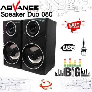 Harga speaker advance duo 080 multimedia   HARGALOKA.COM