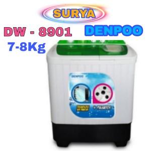 Harga mesin cuci denpoo 2 tabung dw 8901 4 | HARGALOKA.COM
