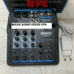 Harga mixer audio ashley speed up 4 4channel usb | HARGALOKA.COM