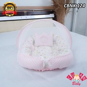 Harga tempat tidur bayi flamingo pink mix polka pink cbnk 124 kasur bayi   HARGALOKA.COM