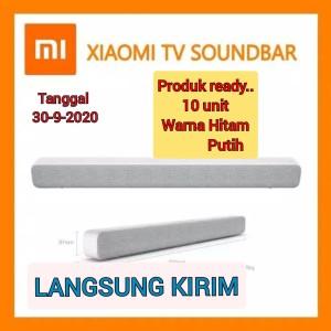 Harga xiomi mi tv sound bar wired and wireless bluethot audio with 8 speaker   | HARGALOKA.COM