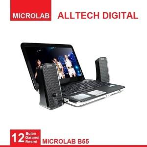 Harga microlab b55 stereo laptop desktop speaker   HARGALOKA.COM