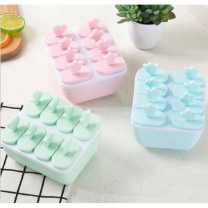Harga cetakan silikon es krim es batu jelly puding coklat agar isi 8 persegi     HARGALOKA.COM