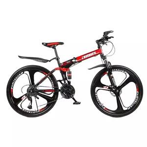 Harga sepeda gunung mtb gmin lipat 26inch velg racing 21 speed   hitam | HARGALOKA.COM