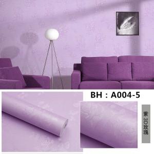 Harga wallpaper emboss bunga ungu  gh 054 warna | HARGALOKA.COM