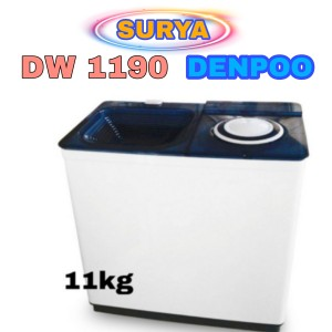 Harga mesin cuci denpoo dw 1190 11 | HARGALOKA.COM