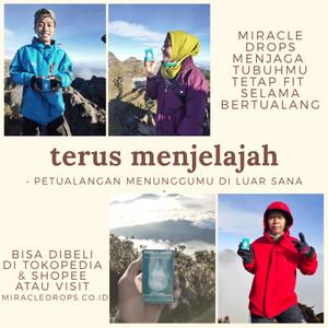 Harga miracle drops teman travel trip kamu survival tool p3k naik | HARGALOKA.COM