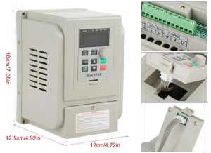 Harga inverter variable frequency drive motor 1 5kw 2 hp 1 phase output   HARGALOKA.COM