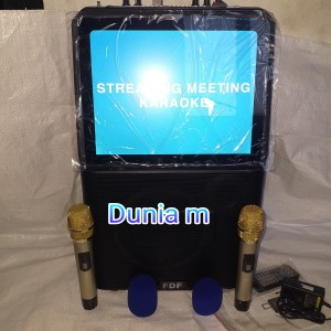 Harga speaker meeting wireless amplifier karaoke simpel bluetooth layar 15 34   HARGALOKA.COM