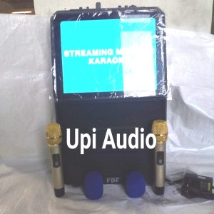 Harga speaker portable fdf 2206 wireless karaoke usb sd fm   HARGALOKA.COM