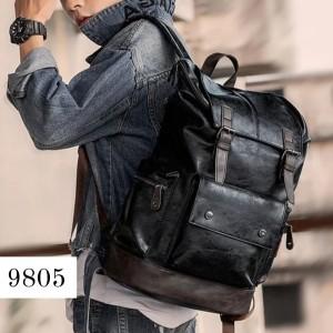 Harga tas ransel pria kulit ransel kulit pria backpack kulit | HARGALOKA.COM