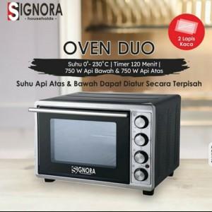 Harga oven duo signora plus hadiah langsung   HARGALOKA.COM
