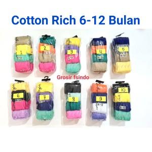 Harga cotton rich legging celana bayi cotton rich   6 12 bulan   HARGALOKA.COM