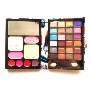 Harga bedak eyeshadow blush on lipstick make up set | HARGALOKA.COM