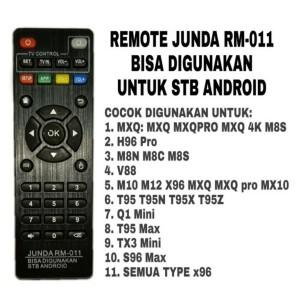 Harga remote mutli android tv box all type maq 4k mx10 h96 v88 tx x96 | HARGALOKA.COM