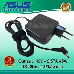 Harga adaptor charger laptop asus 19v 2 37a 45watt colokan kecil | HARGALOKA.COM