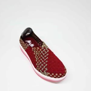 Harga m amp m sepatu wedges rajut tikar rajut wanita fashion korea casual 06   36 | HARGALOKA.COM