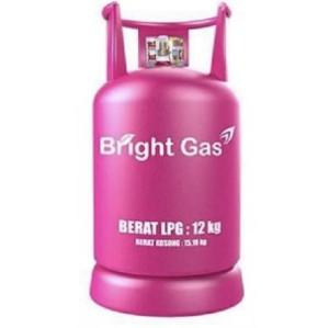 Harga tabung elpiji lpg bright gas 12 kg isi gas segel | HARGALOKA.COM