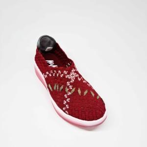 Harga m amp m sepatu wedges rajut tikar rajut wanita fashion korea casual 05   36 | HARGALOKA.COM