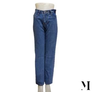 Harga celana jeans boyfriend wanita model polos cuci gudang   28 biru | HARGALOKA.COM
