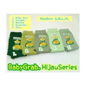 Harga celana legging bayi dan anak 34 baby grab 34 warna hijau   army size   HARGALOKA.COM