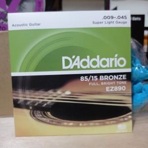 Harga senar gitar akustik daddario ez890 ukuran 0 | HARGALOKA.COM