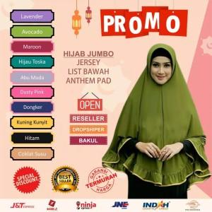 Harga kerudung jumbo jersey hijab instan jumbo jersey jilbab jersey jumbo   jmb list | HARGALOKA.COM
