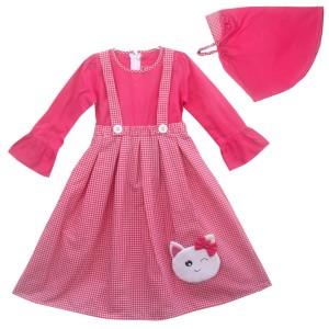 Harga two mix gamis anak muslim perempuan   baju anak muslim 2969   fanta | HARGALOKA.COM