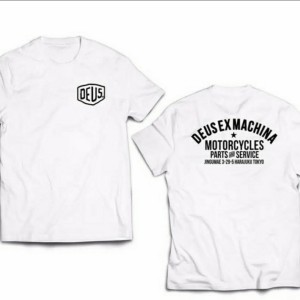 Harga kaos baju tshirt distro pria wanita deus ex machina   putih | HARGALOKA.COM