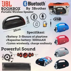 Harga boombox jbl speaker wireless portable powerfull sound stereo | HARGALOKA.COM