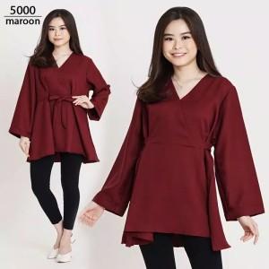 Harga blouse wanita jumbo terbaru atasan big size xxl   5000 | HARGALOKA.COM