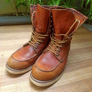 Harga sepatu red wing irish setter 877 rare vintage 10 | HARGALOKA.COM