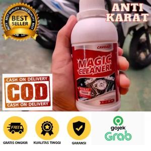 Harga cavdar obat penghilang karat pada velk knalpot amp mesin motor | HARGALOKA.COM