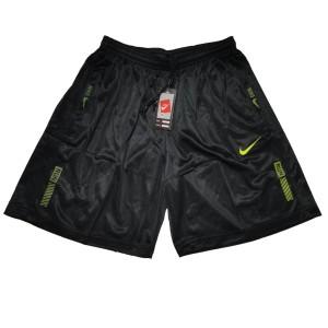 Harga celana pendek olahraga running gym nike run   hitam stabilo | HARGALOKA.COM