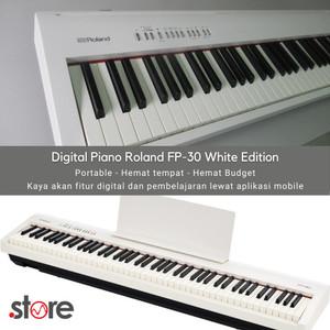 Harga piano digital portable roland fp 30 piano black amp   HARGALOKA.COM