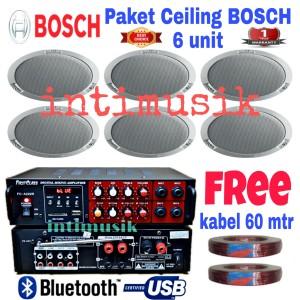 Harga paket sound system ceiling bosch 6 | HARGALOKA.COM