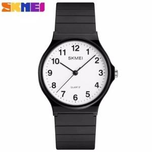 Harga murah berkualitas jam tangan pria dan wanita skmei 1419 jam analog   putih | HARGALOKA.COM