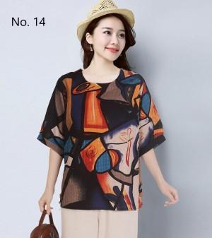 Harga baju atasan cantik adem simpel | HARGALOKA.COM