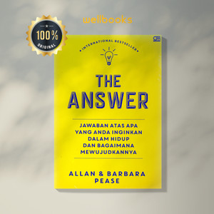 Harga buku 34 the answer jawaban atas semua yang anda inginkan 34 baru   HARGALOKA.COM