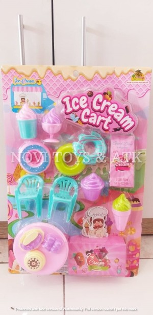 Harga mainan anak set jual es krim ice cream | HARGALOKA.COM