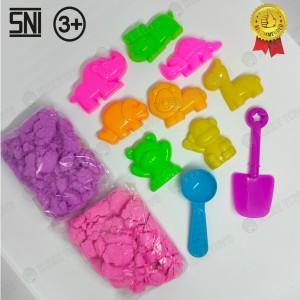 Harga mainan play doh pasir cetakan hewan cute   HARGALOKA.COM