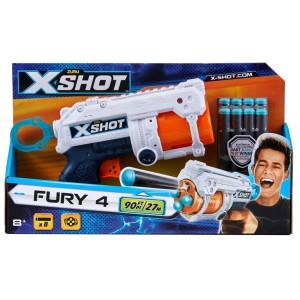 Harga mainan anak zuru xshot fury 4 tembakan pistol like nerf     HARGALOKA.COM