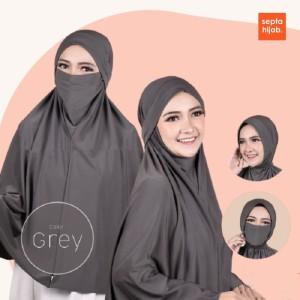 Harga jilbab bergo instan jumbo jersey syari cadar nonpet 4 model     HARGALOKA.COM